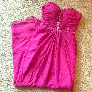 Robina Outar Pink Dress